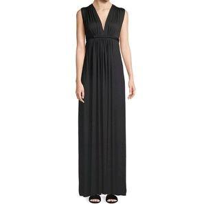Olian Dresses - New Olian LUCY Maxi Maternity Dress Black Sz XS